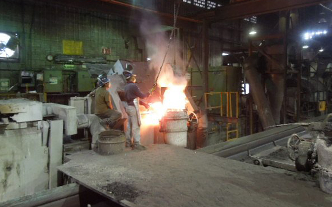 Dual Track Induction Melt Furnace